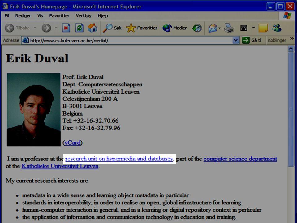 Prof Dr Erik Duval