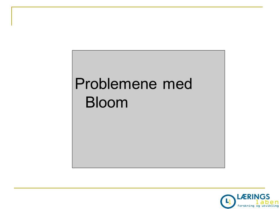 Problemene med Bloom