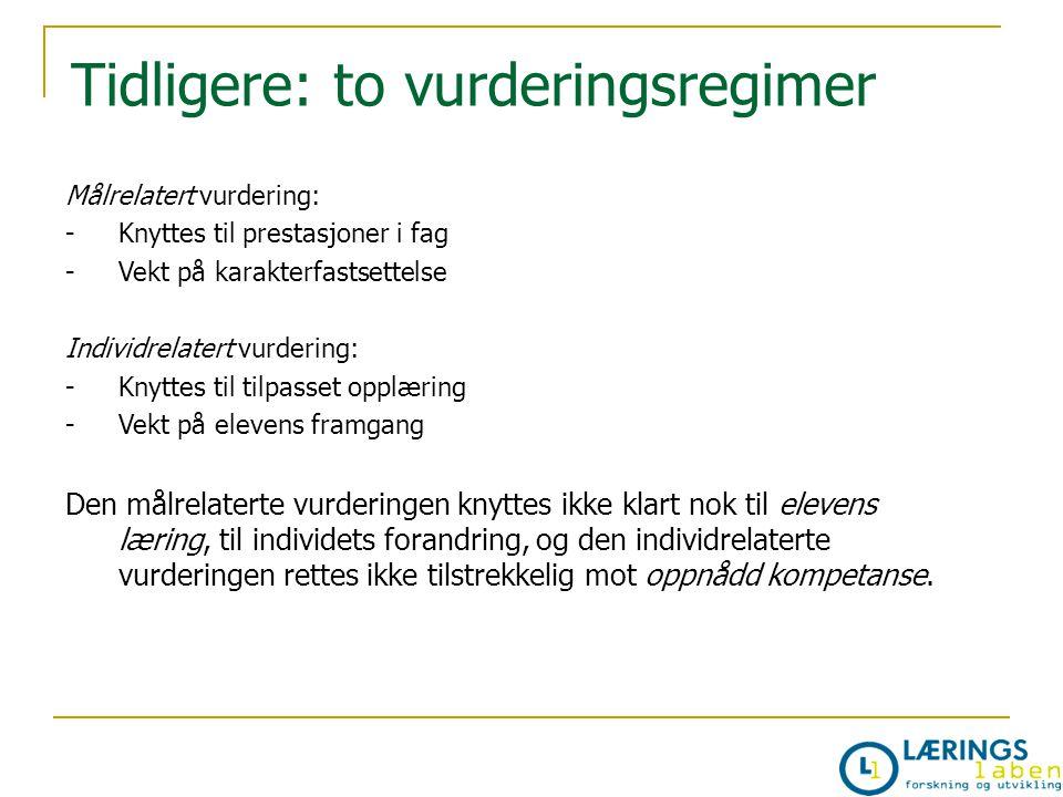 Oversikt over vurderingssituasjonene i norsk denne høsten og litt om hvordan de blir vurdert.