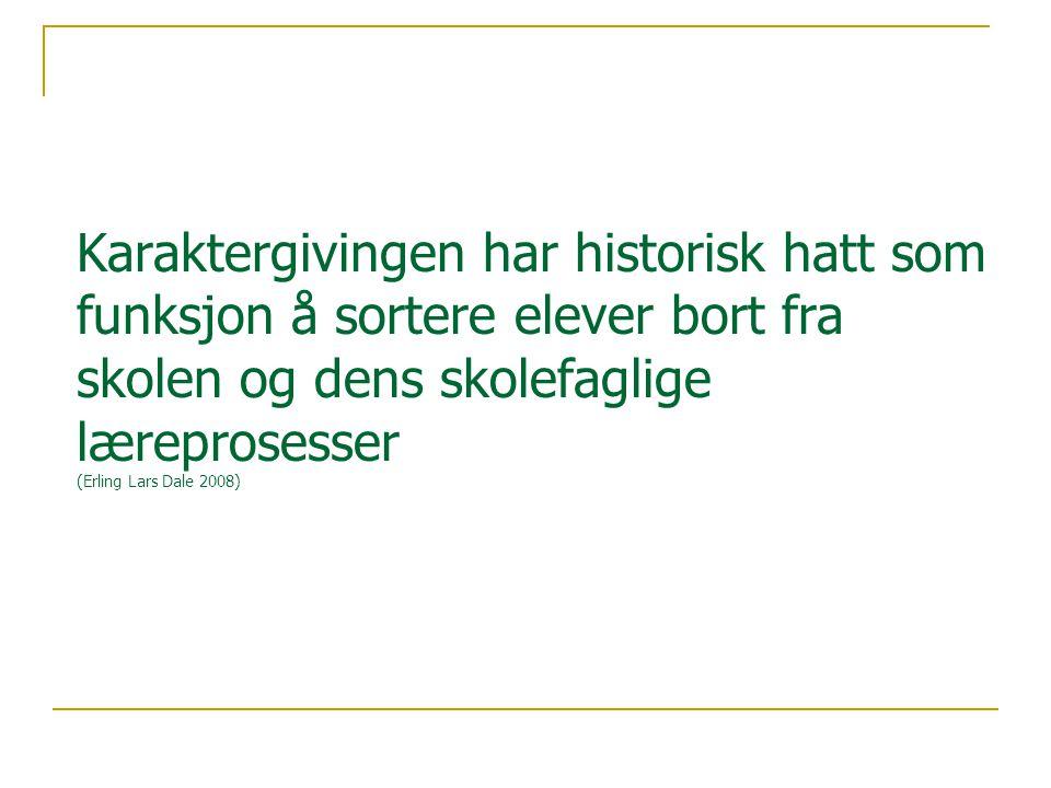 Kjennetegn og kriterier Jarl Inge Wærness