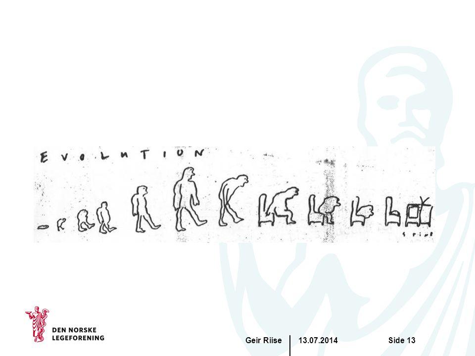 13.07.2014Geir RiiseSide 13