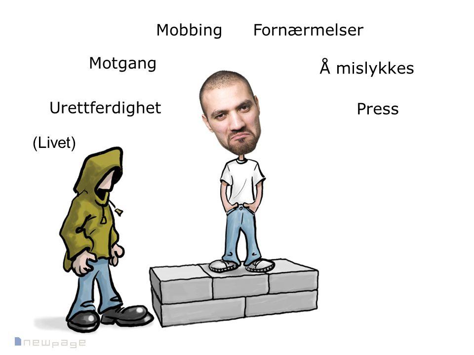 Motgang Å mislykkes Press Urettferdighet FornærmelserMobbing (Livet)