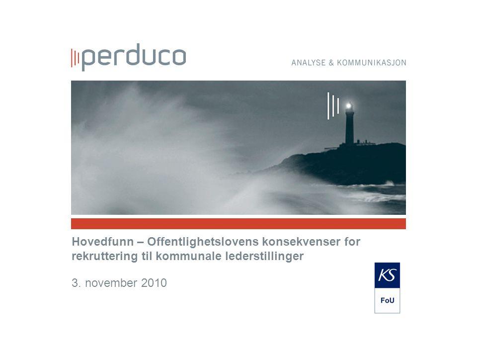 Undersøkelse rettet mot rådmenn i norske kommuner