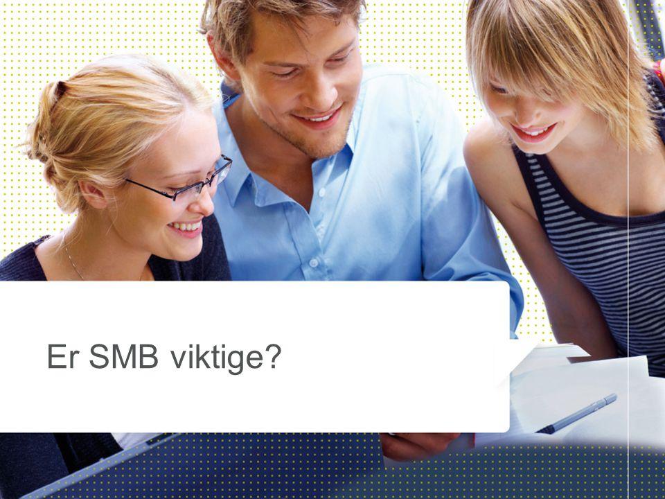Er SMB viktige?