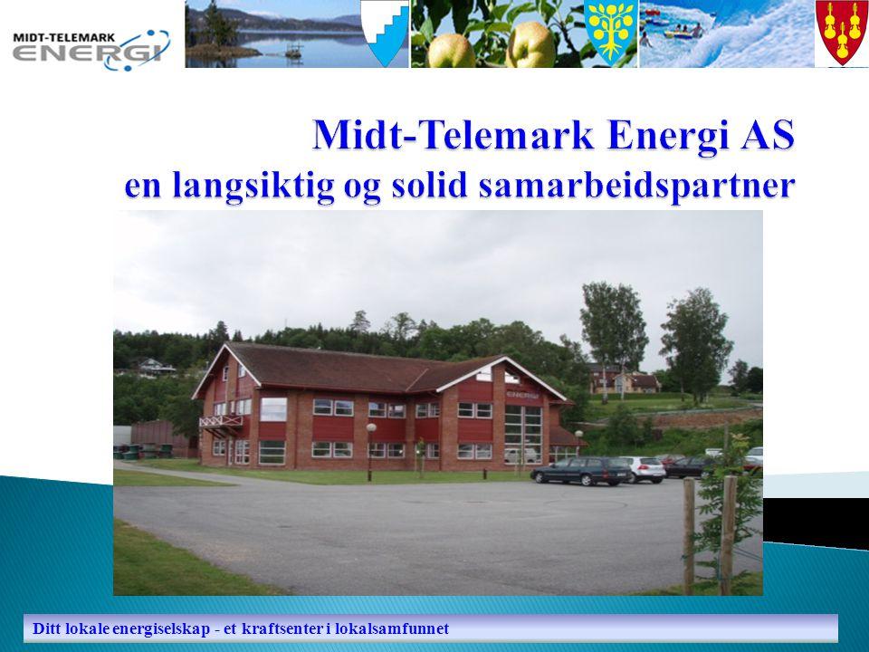 Ditt lokale energiselskap - et kraftsenter i lokalsamfunnet