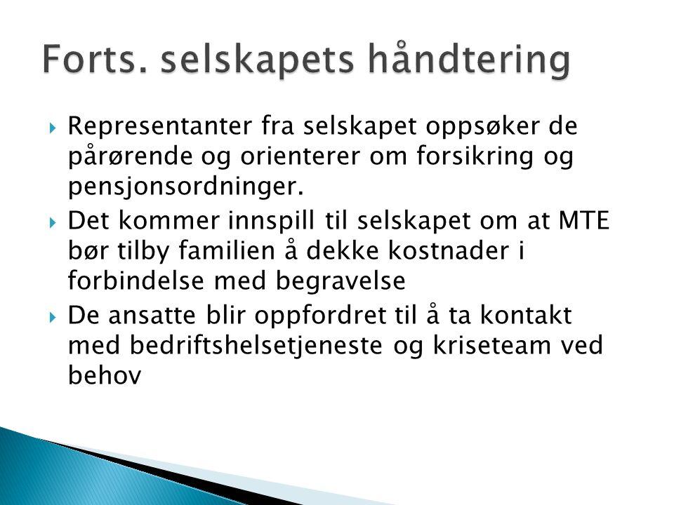  I kontakt med media, både VG og fylkesavisene for Telemark, Varden og TA, er daglig leder veldig tydelig på at ulykken ikke skyldes uansvarlighet, verken av selskapet eller montørene og således ikke kan klandres for det som skjedde.