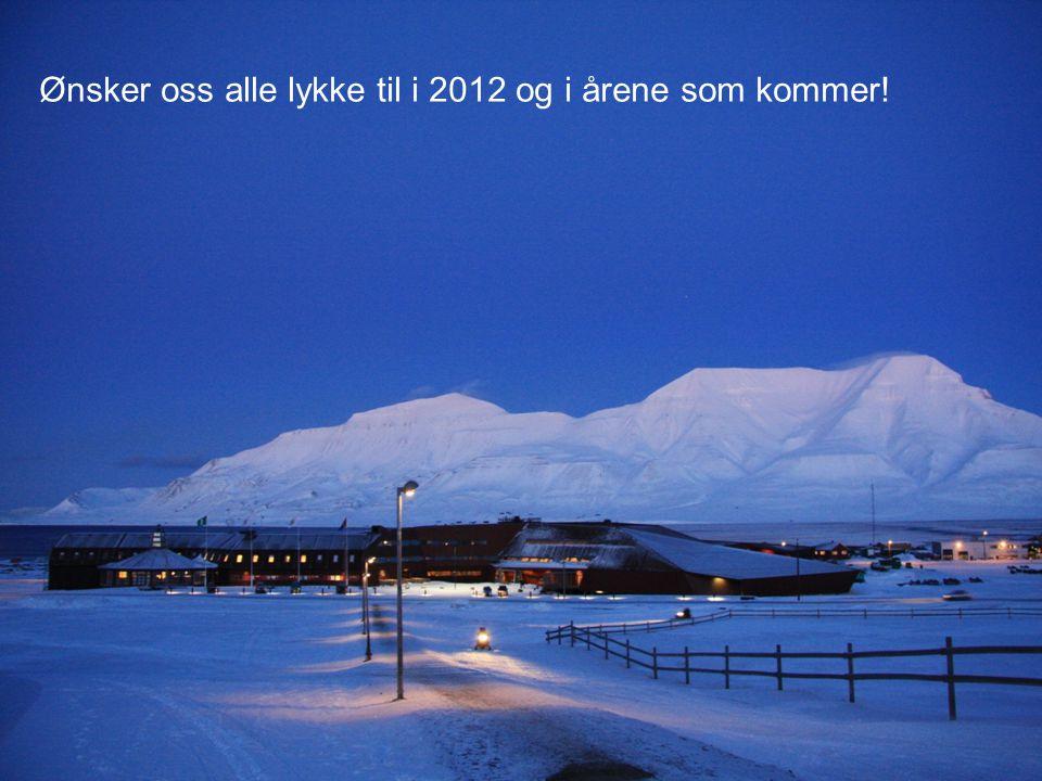 Ønsker oss alle lykke til i 2012 og i årene som kommer!