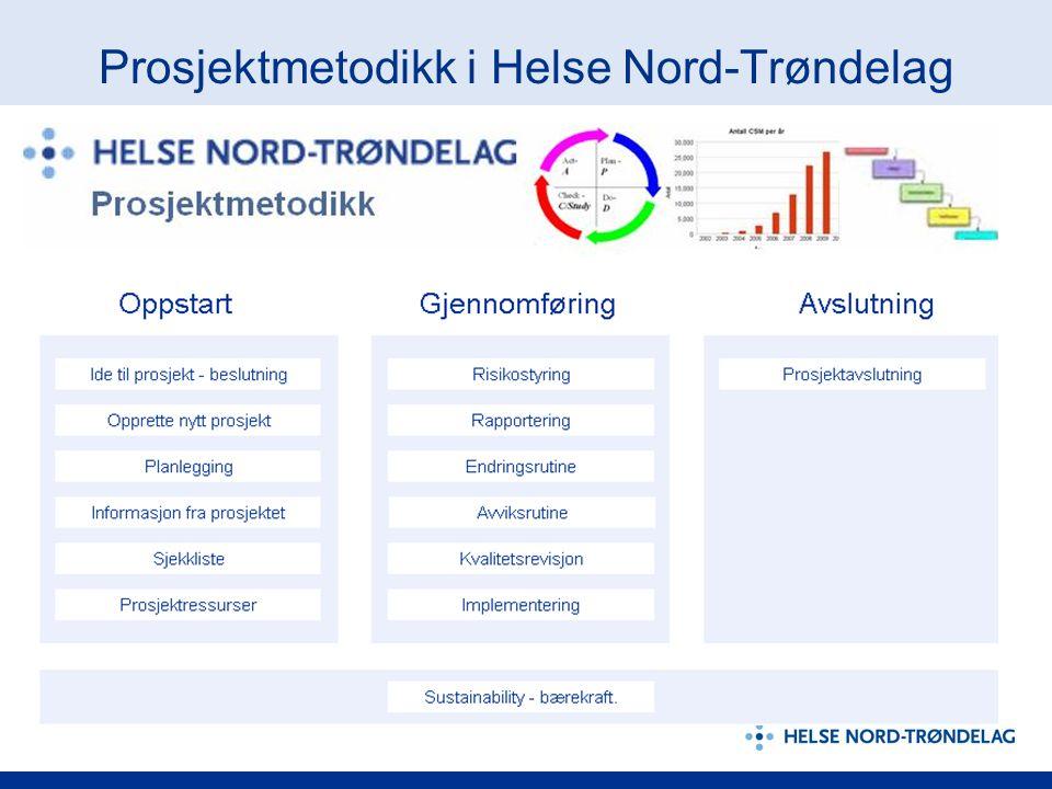Prosjektmetodikk i Helse Nord-Trøndelag