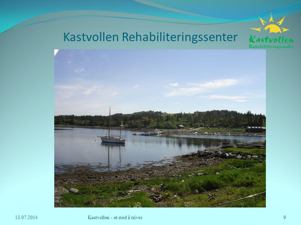 Kastvollen Rehabiliteringssenter o Gruppeleder  en rød tråd' o Evaluering 13.07.2014Kastvollen - et sted å trives10