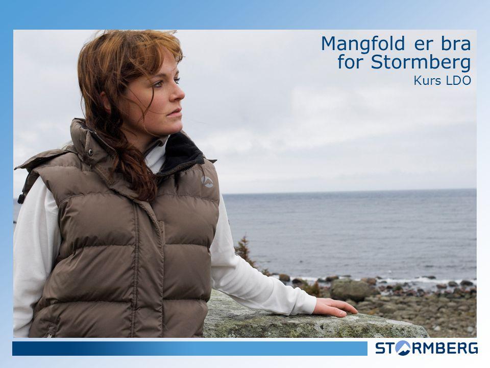 Mangfold er bra for Stormberg Kurs LDO