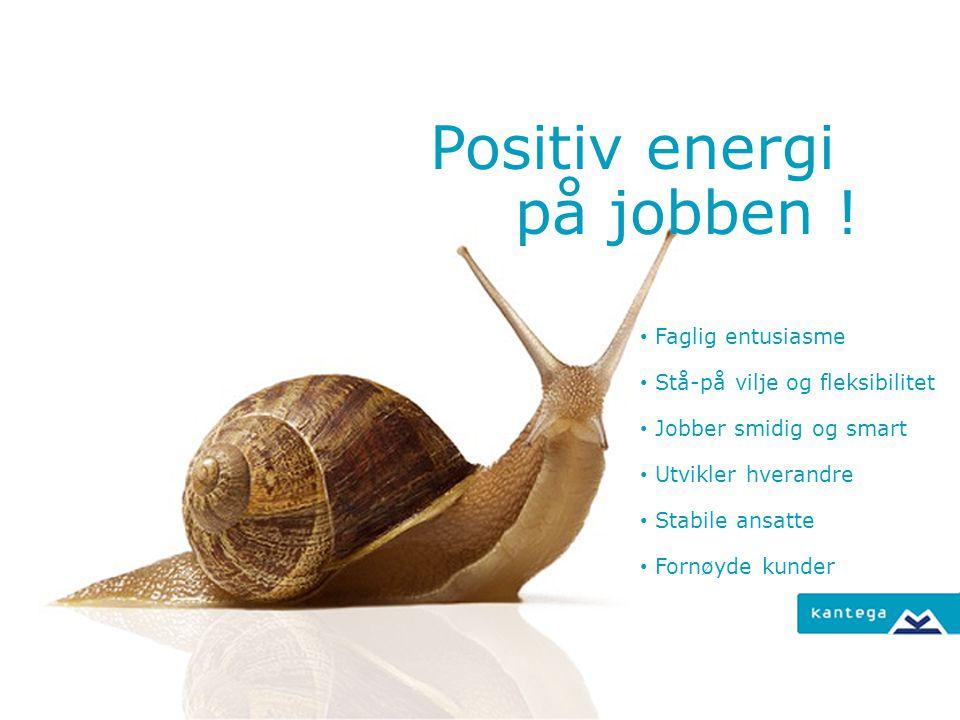 Godt arbeidsmiljø er et verdivalg Moderne kvalitetstenkning sier: Fornøyde ansatte resulterer i fornøyde kunder.