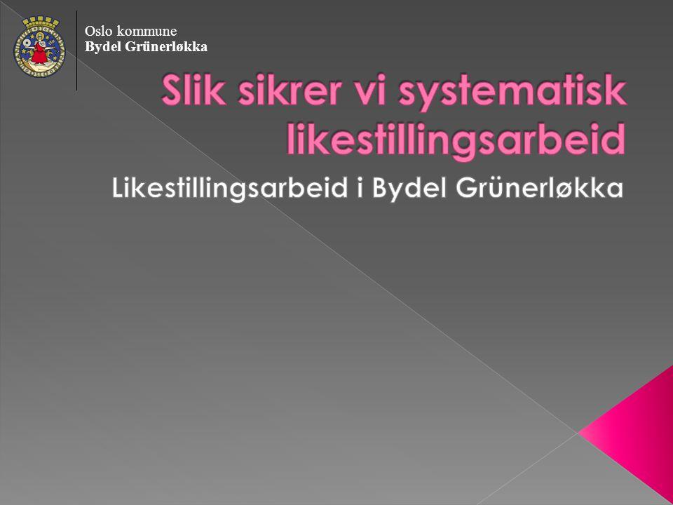 Oslo kommune Bydel Grünerløkka