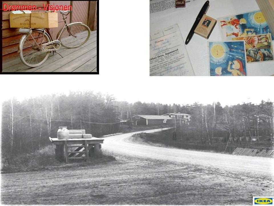 Ingvar Kamprad hadde en visjon Å skape en bedre hverdag for de mange menneskene .