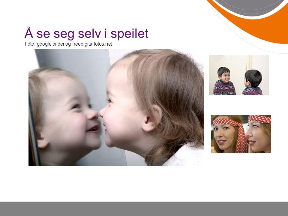 Å se seg selv i speilet Foto: google bilder og freedigitalfotos.net