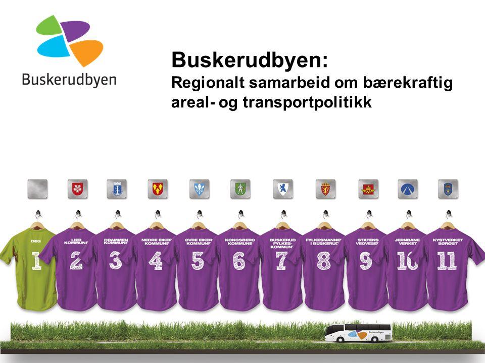 Buskerudbyen: Regionalt samarbeid om bærekraftig areal- og transportpolitikk