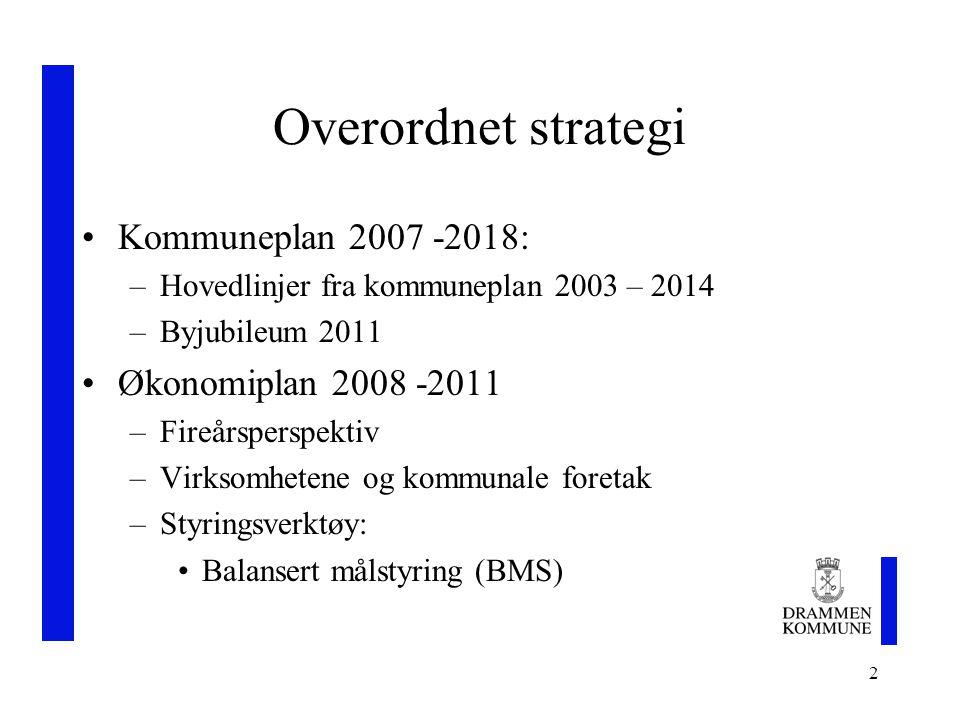 3 Overordnet strategi forts.