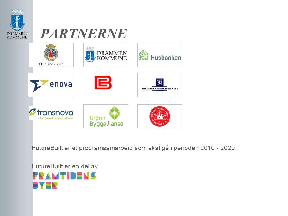 PARTNERNE FutureBuilt er et programsamarbeid som skal gå i perioden 2010 - 2020 FutureBuilt er en del av