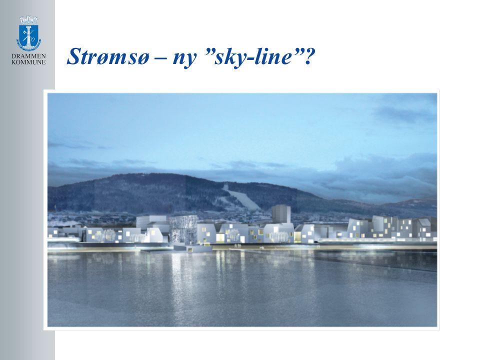 Strømsø – ny sky-line