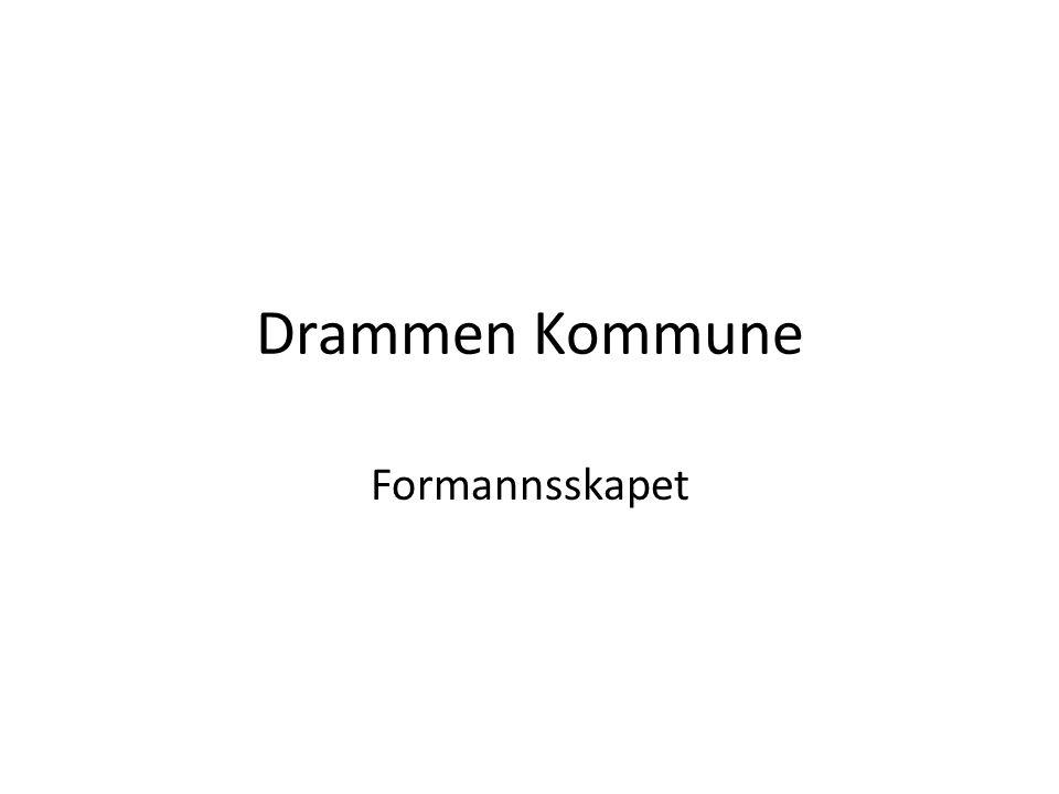 Drammen Kommune Formannsskapet