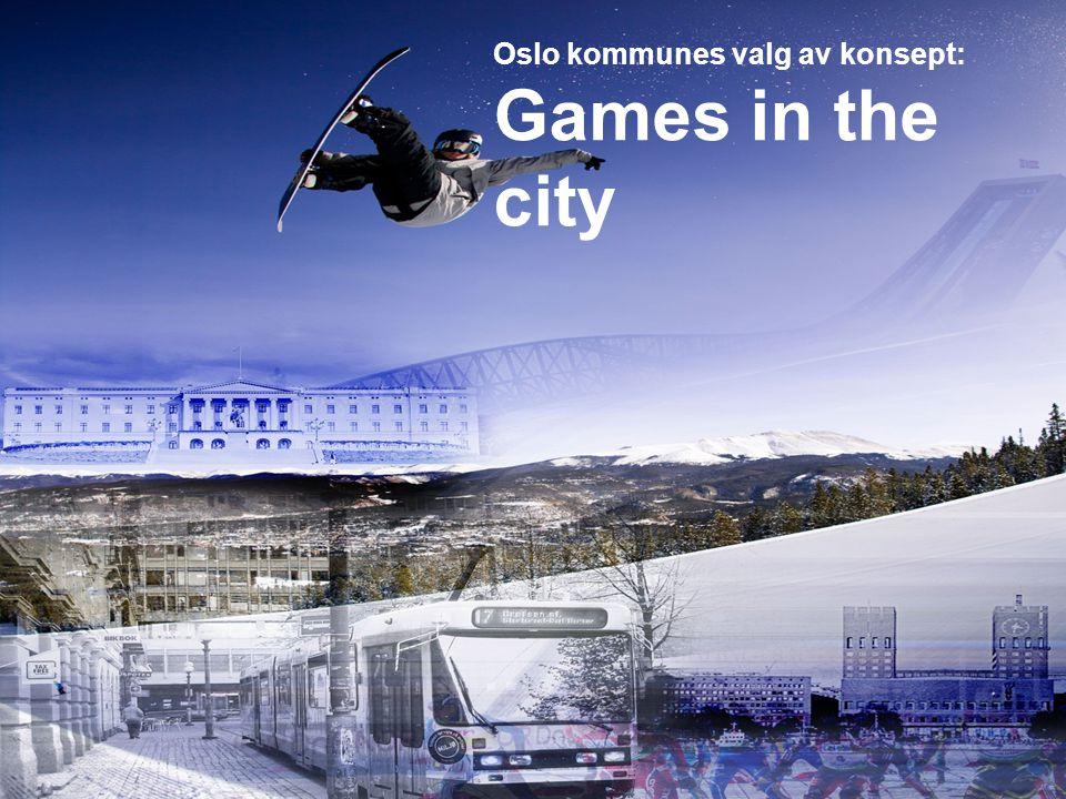 Oslo kommunes valg av konsept: Games in the city