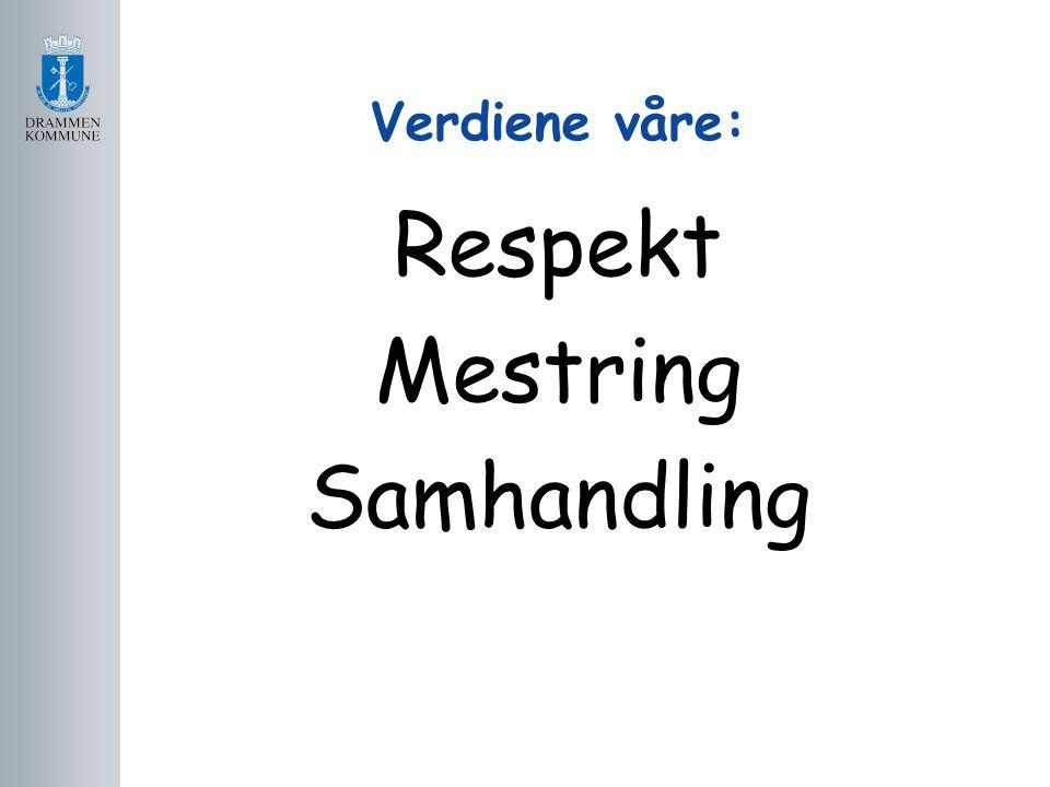 Verdiene våre: Respekt Mestring Samhandling
