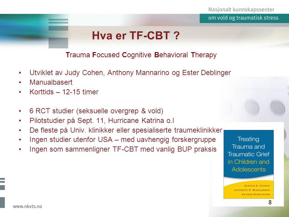 Hva er TF-CBT .