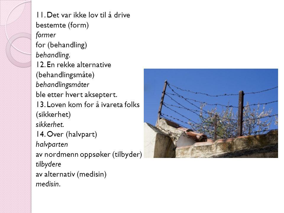 15.Dagens (samfunn) samfunn er rart på mange måter.