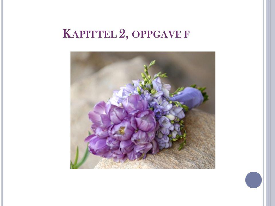 K APITTEL 2, OPPGAVE F