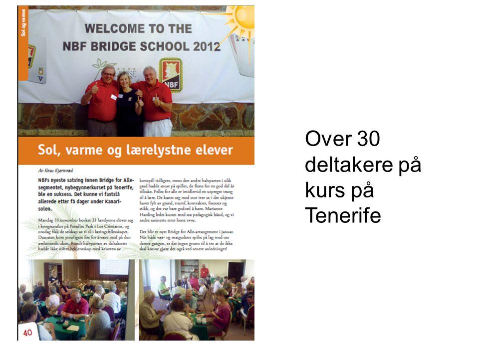 Over 30 deltakere på kurs på Tenerife