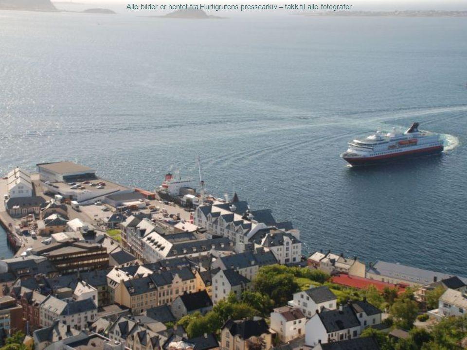 Alle bilder er hentet fra Hurtigrutens pressearkiv – takk til alle fotografer