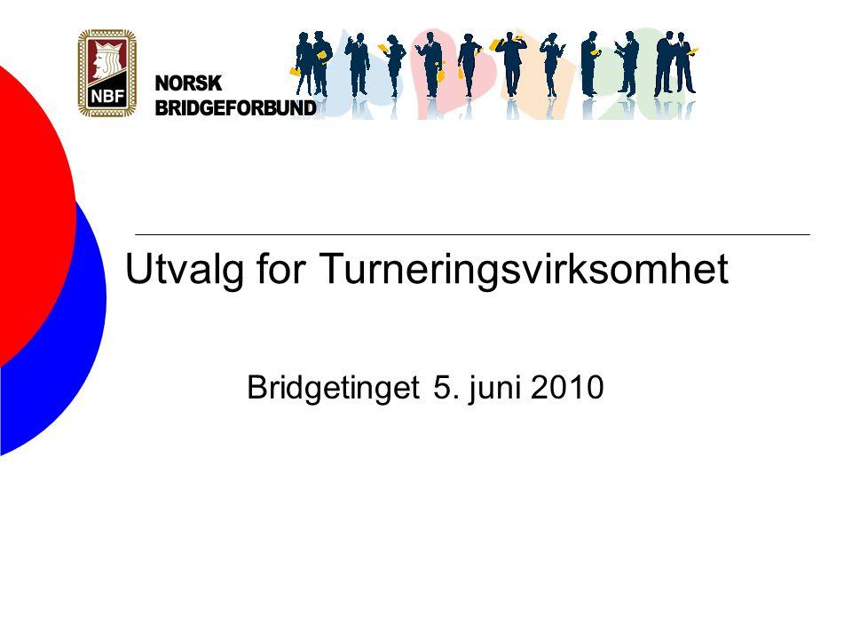 Utvalg for Turneringsvirksomhet Bridgetinget 5. juni 2010