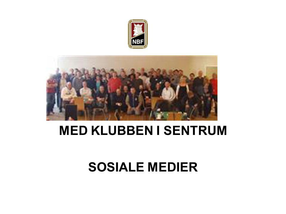 MED KLUBBEN I SENTRUM SOSIALE MEDIER