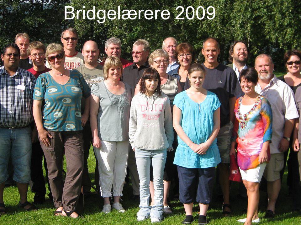 Bridgelærere 2009