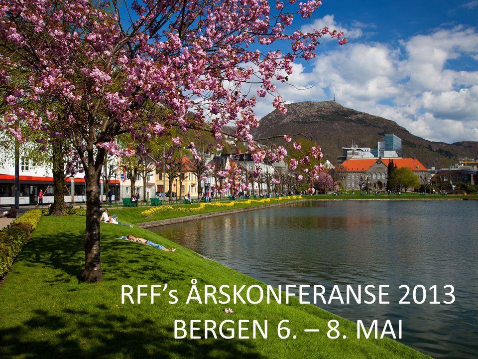 RFFs vedtekter (utdrag): Navn og formål  Rådet for offentlige fagskoler (RFF) er et koordinerende organ for fylkeskommunale og andre offentlige fagskoler (heretter kalt fagskolene) og har kvalitetsutvikling, samordning av etterutdanningstiltak, markedsføring og informasjonstiltak, som hovedformål.