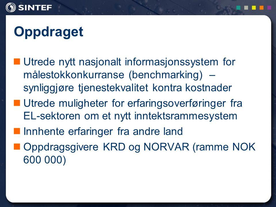 14 Sammenligning VA- og EL-sektoren Produksjon Sentralnettet RegionalnettetFordelingsnettet Vann VB Kilde Avløp RA EL