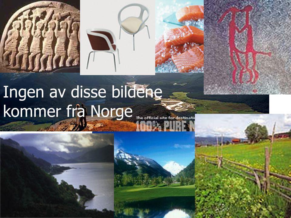 Ingen av disse bildene kommer fra Norge