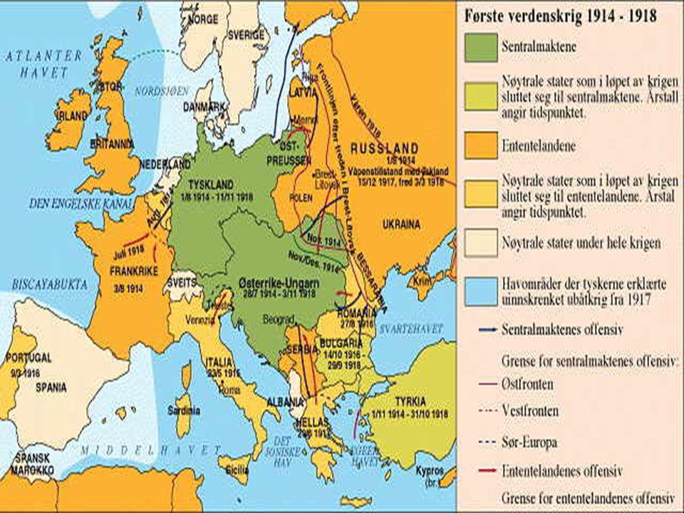 Tyskland, Østerrike-Ungarn og Italia 1882- 1914.