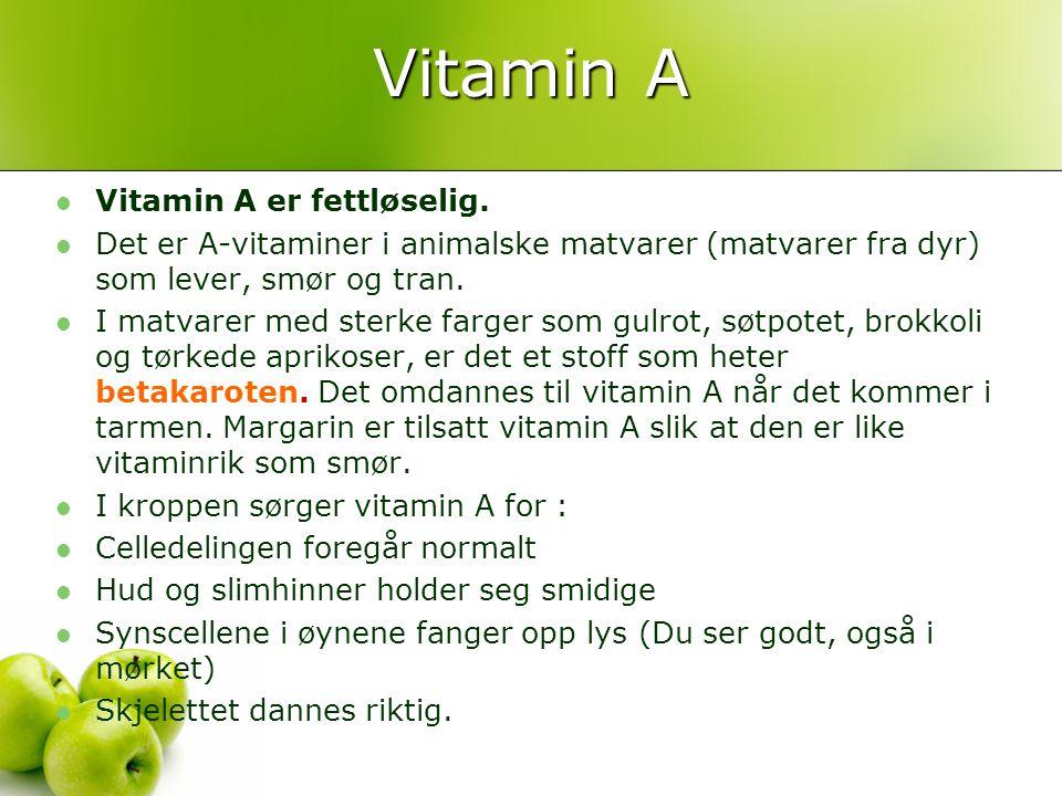 Visste du at… spedbarn fødes uten K- vitaminproduserende bakterier.