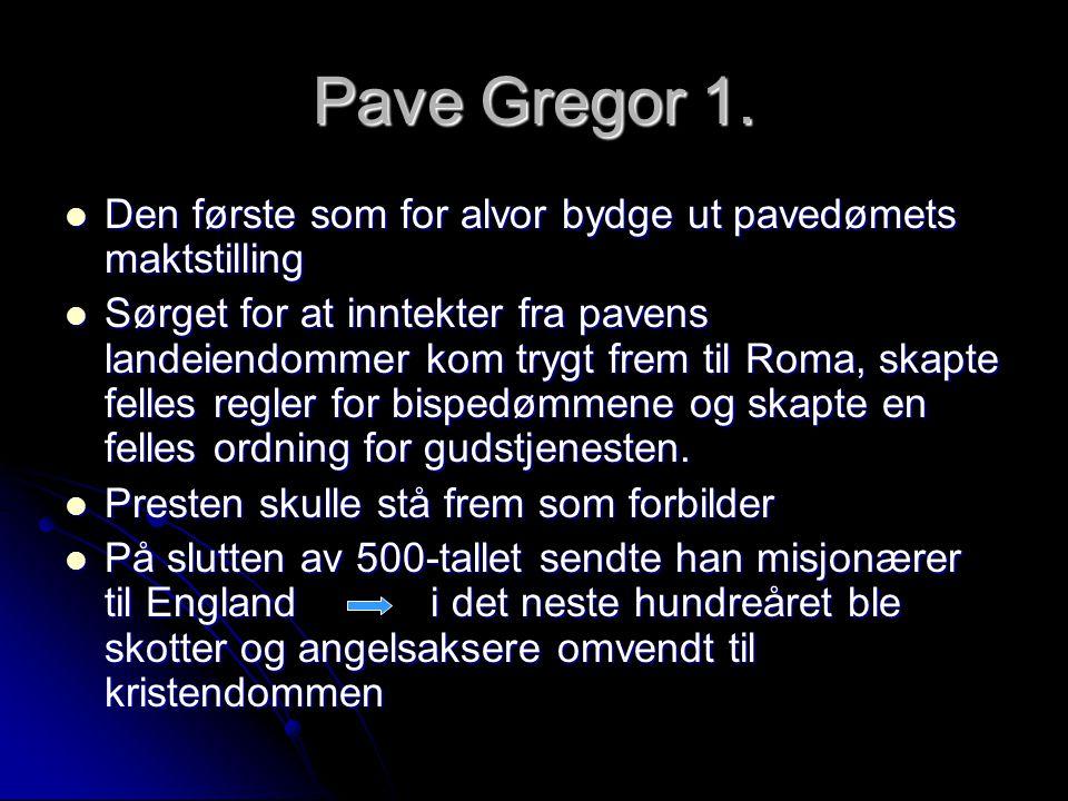Pave Gregor 1.