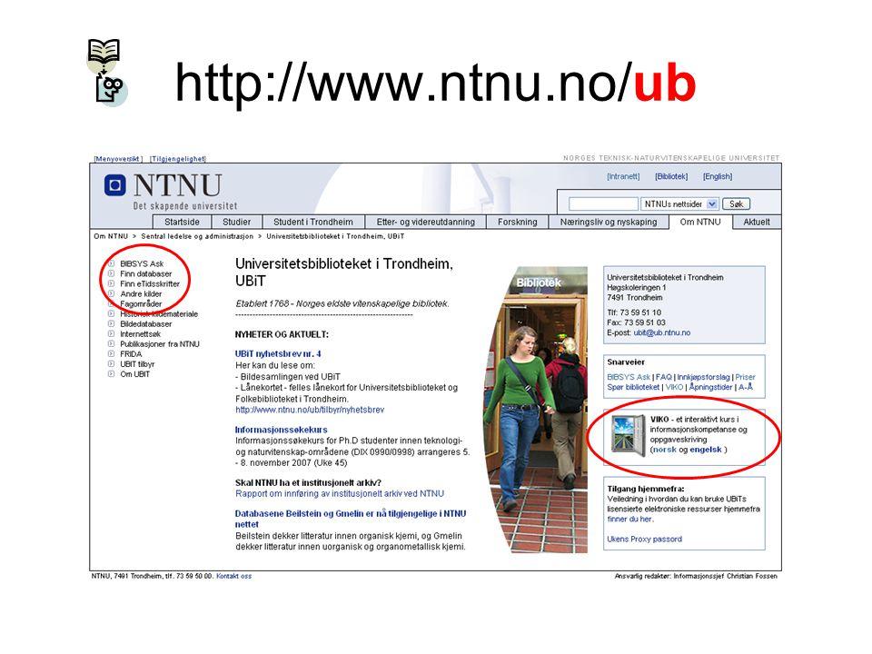 http://www.ntnu.no/ub
