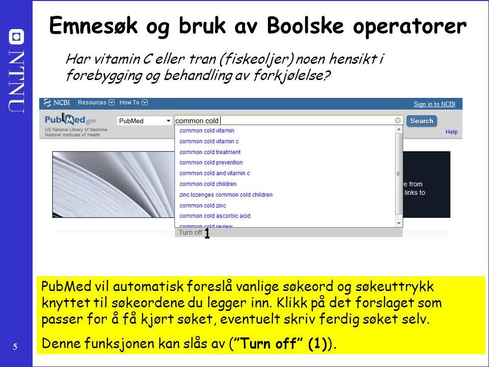 26 Bruke MyNCBI Velg My NCBI fra inngangsporten øverst til høyre på siden.