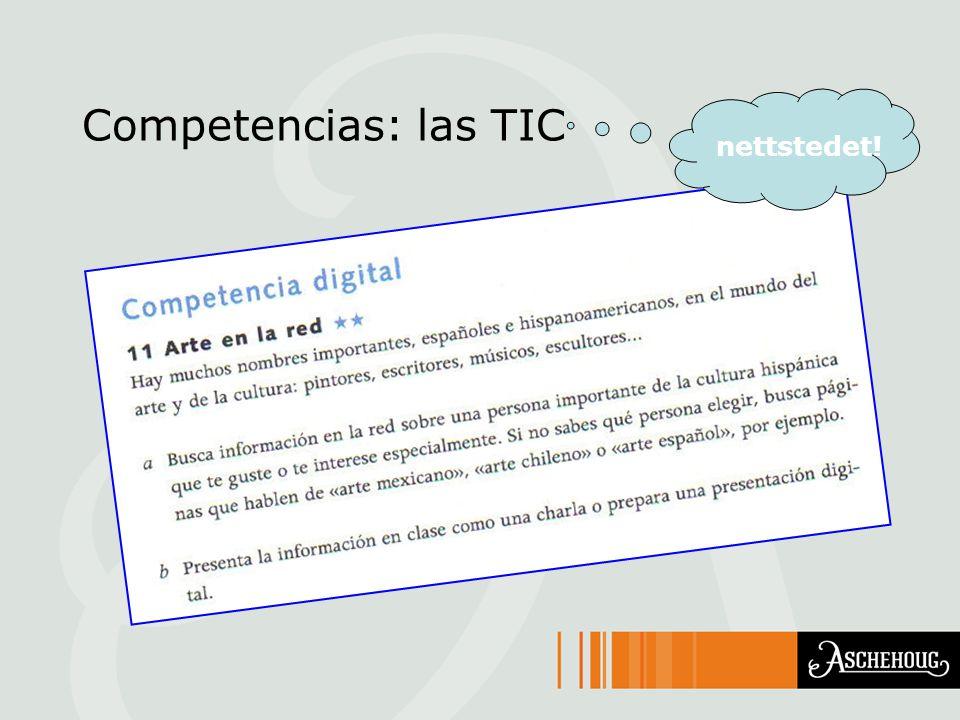 Competencias: las TIC nettstedet!