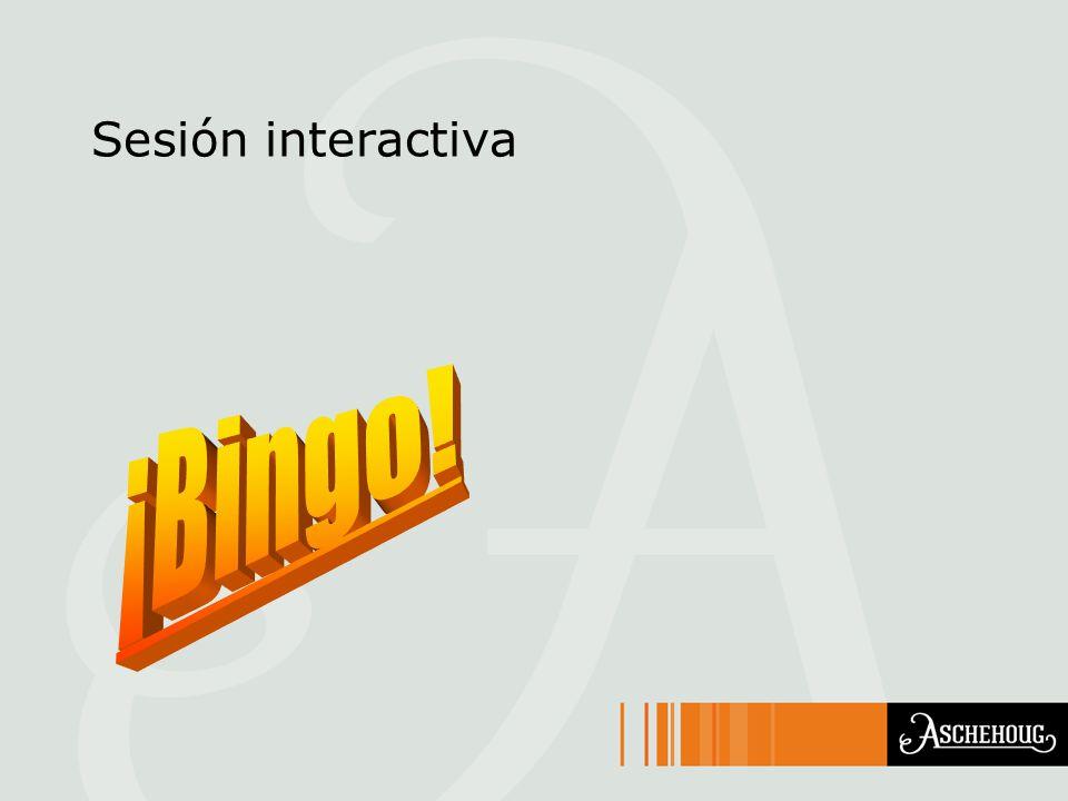 Sesión interactiva