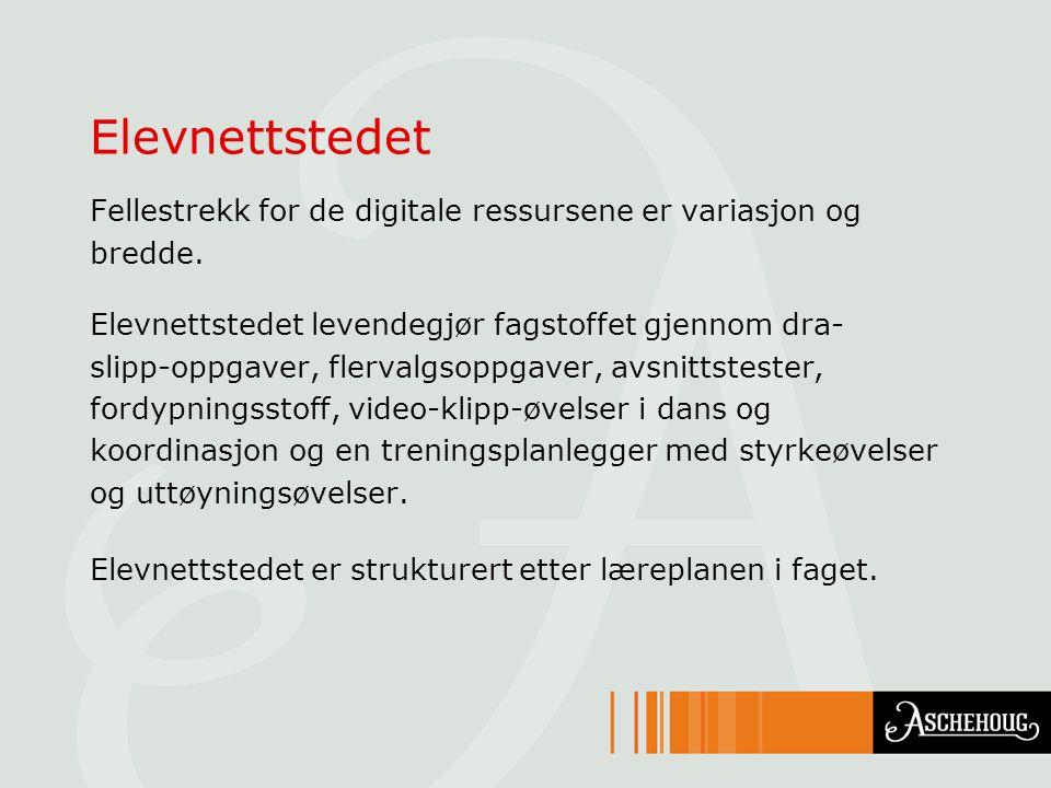 En oppsummering Nettressursene er samlet på nettportalen LOKUS: www.lokus.nowww.lokus.no.