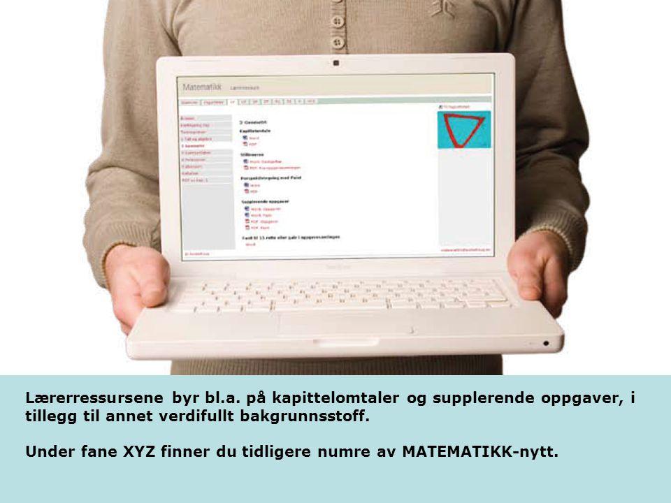Lærerressursene – en oppsummering Lærerressursene er samlet på nettportalen LOKUS: www.lokus.nowww.lokus.no.