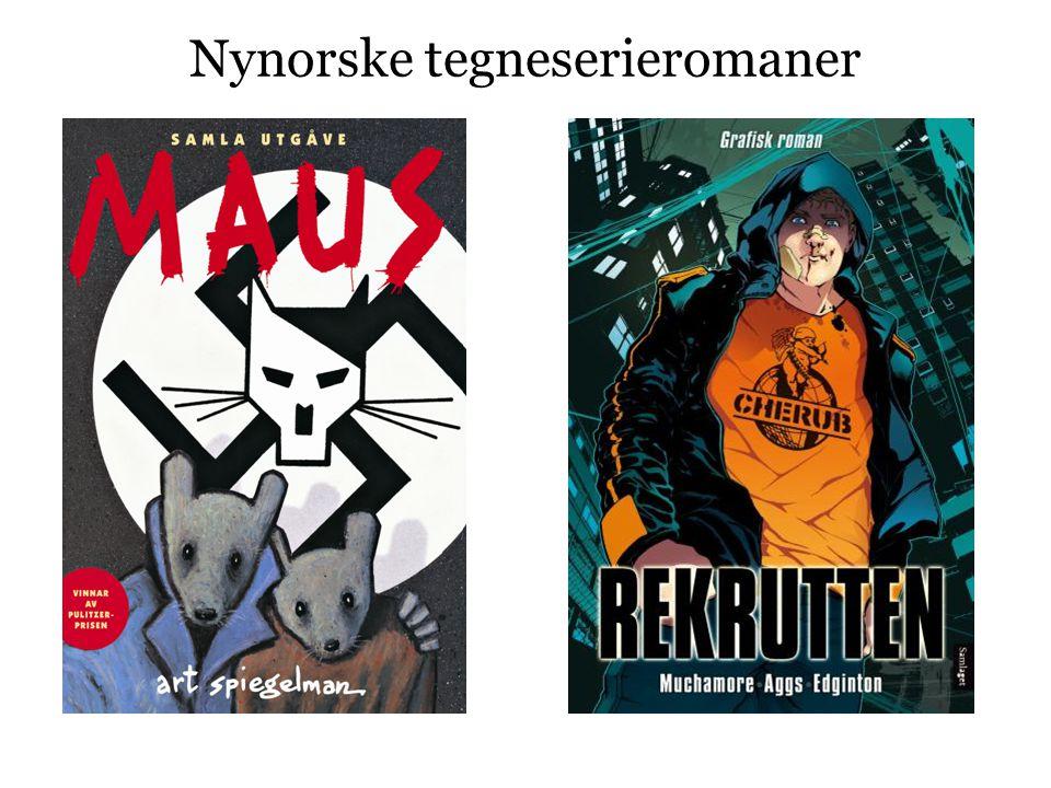 Nynorske tegneserieromaner