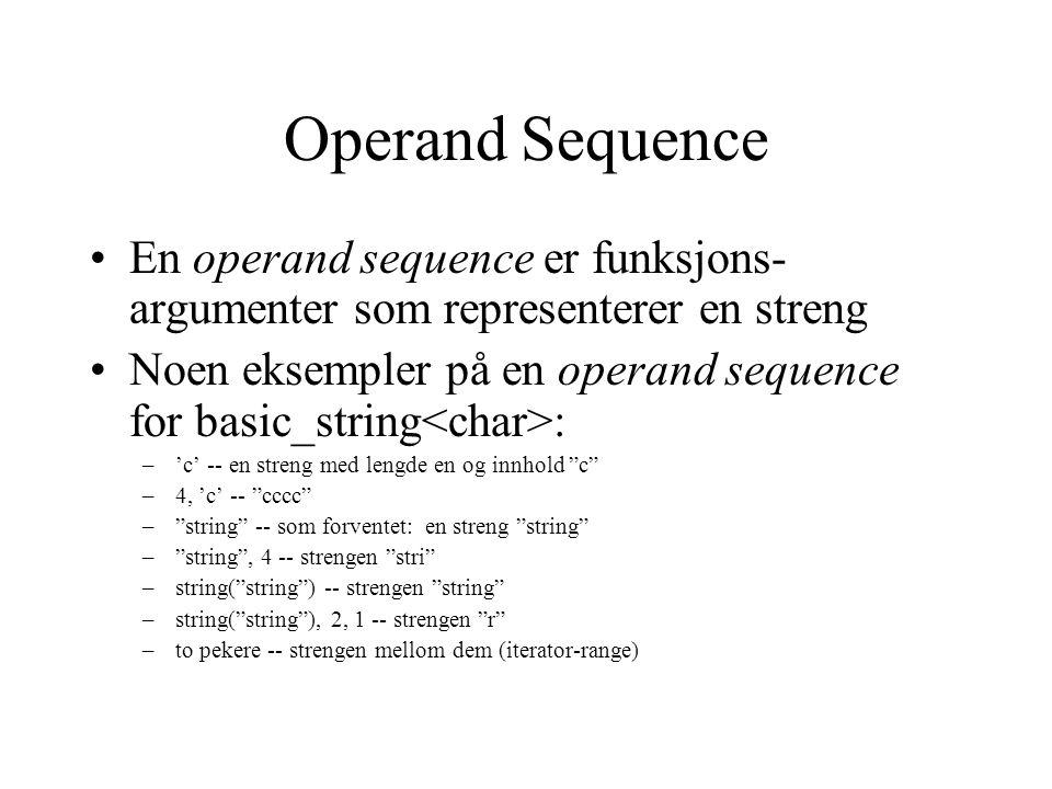 Header som inkluderer basic_string basic_string har ca.