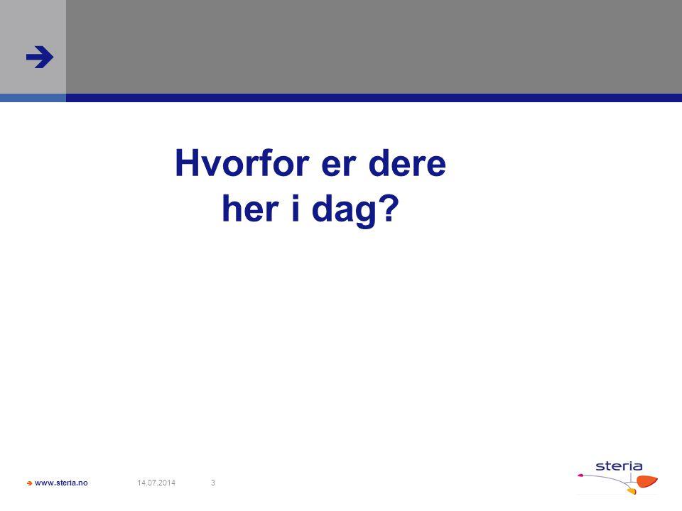  www.steria.no  14.07.201414 Thomas Nilsson (responsive design) 1.