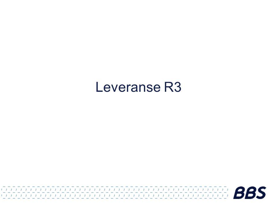 Leveranse R3