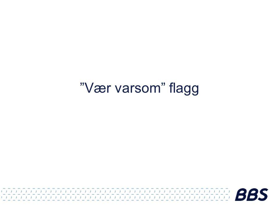 Vær varsom flagg